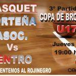 BASQUET- La U17 cierra el torneo en Porteña