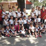 IECS- LOS NIÑOS CELEBRARON MUY FELICES SU ÚLTIMO DÍA DE CLASES