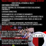 """CURSO DE PREPARACIÓN FÍSICA: """"NUEVAS TENDENCIAS EN EL ENTRENAMIENTO FUNCIONAL DEPORTIVO"""""""